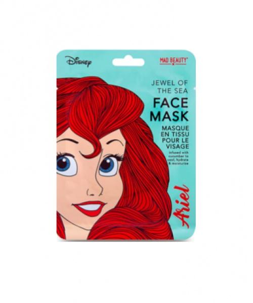 Mad Beauty - Masque en tissu Ariel au concombre