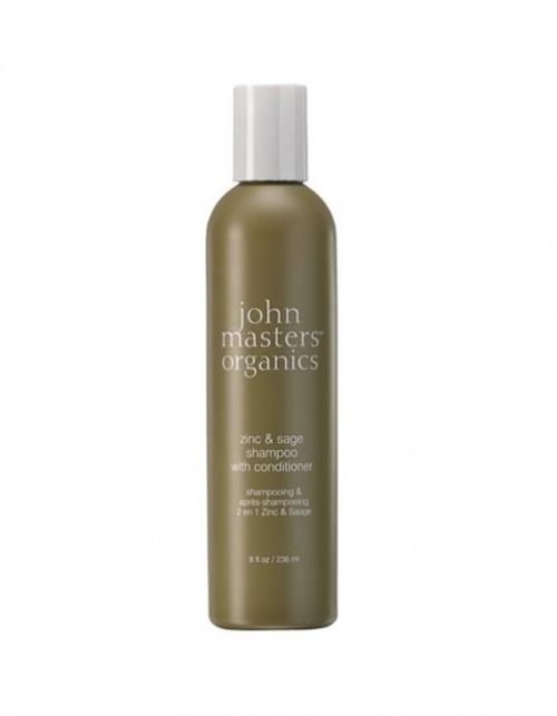John Masters Organics - Shampoing bio zinc et sauge antipelliculaire