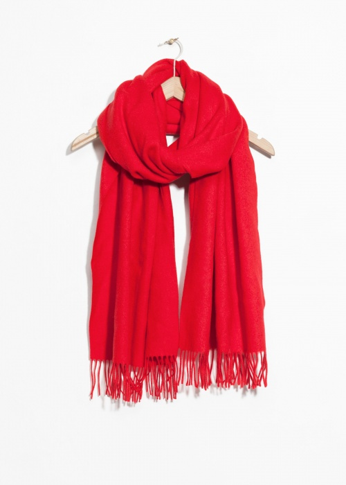 & Other Stories - Oversized Wool Scarf