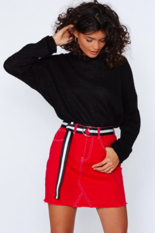 Nasty Gal - Sew Sue Me Stitch Skirt