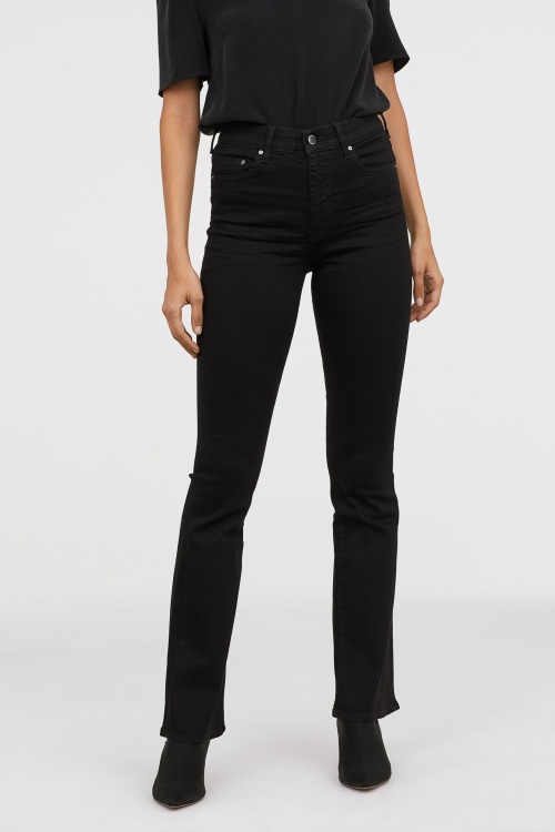 H&M - Mini Flare High Jeans
