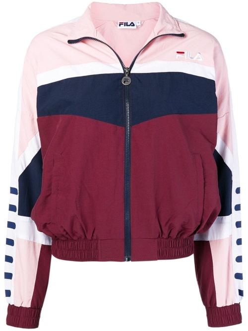 FILA - Colour Block Zipped Jacket