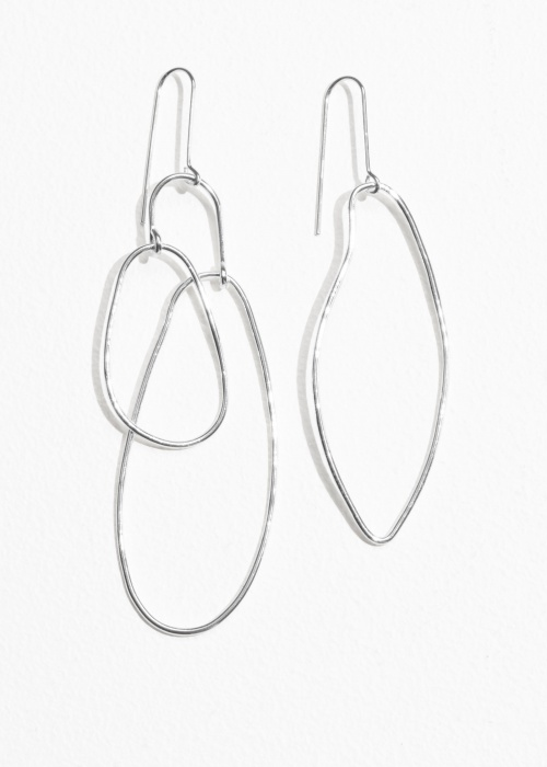 & Other Stories - Asymmetrical Earrings
