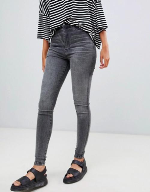 Dr Denim - Moxy Sky - Jean Skinny Taille Haute