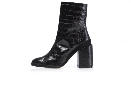 Dear Frances - Spirit Boot, Black Croc
