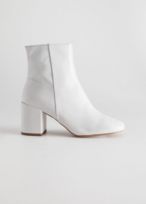 & Other Stories - Leather Ankle Boots