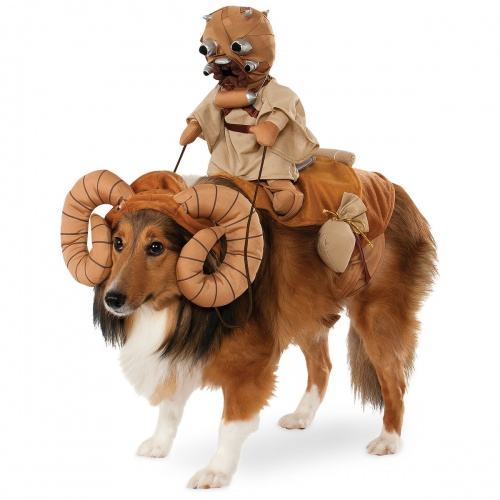 Disney - Bantha with Tusken Raider Pet Costume by Rubie's - Star Wars