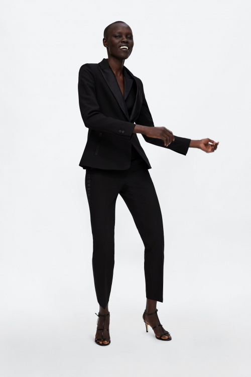 Zara - Blazer de smoking