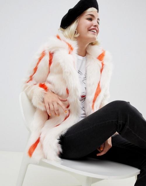 Glamorous - Manteau à rayures