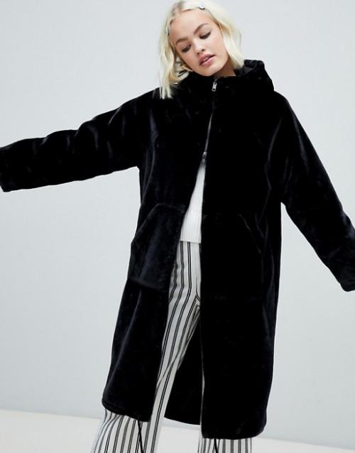 Monki - Manteau à capuche
