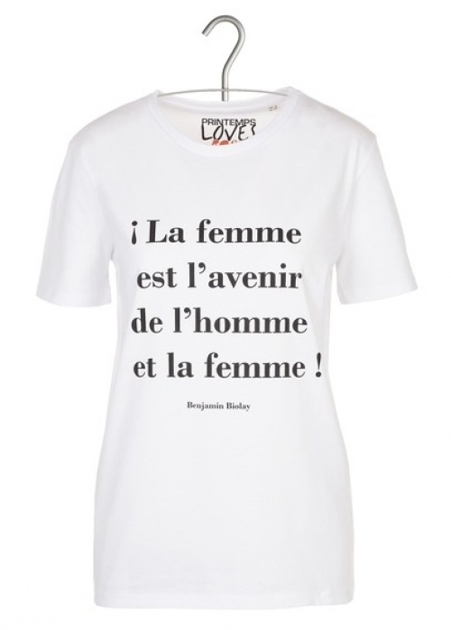 Printemps x Rose - T-shirt