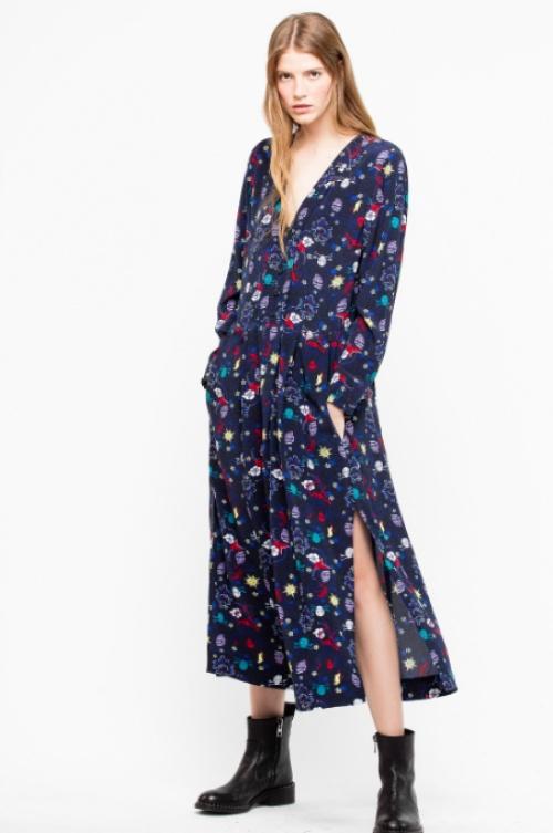 Zadig & Voltaire - Roux Print Tatoo Dress