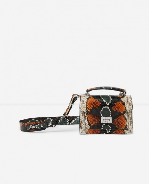 sac bandoulière python
