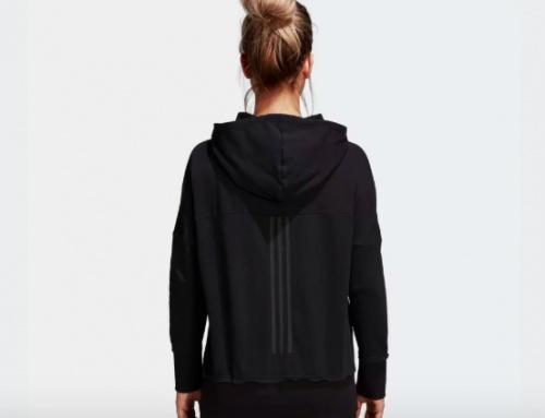 Adidas X Wanderlust - Veste à capuche noire