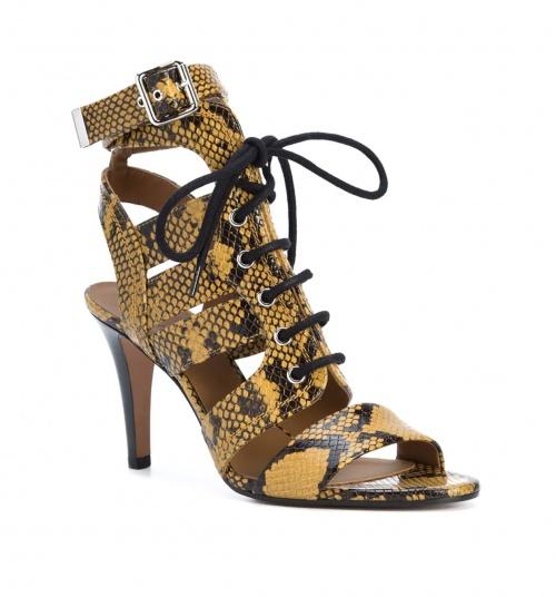 sandales  à talon Rylee jaune