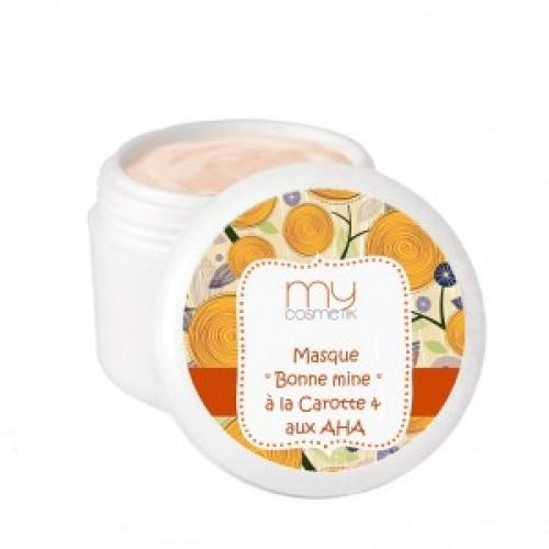 MyComestik - Masque bonne mine à la carotte