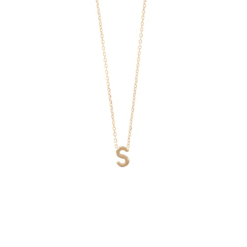 Sarah & Sebastian - Petite letter necklace