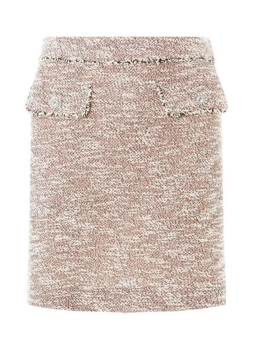 Mini-jupe droite