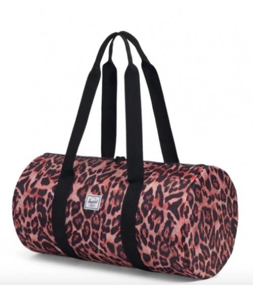 Herschel - Sac de sport imprimé léopard rose (22L)