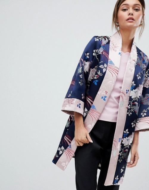 Ted Baker - Kimono en jacquard
