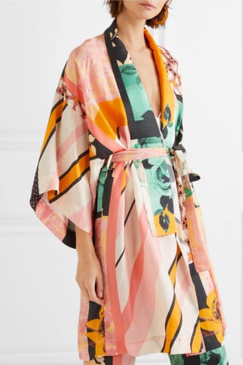 STINE GOYA - Kimono en satin
