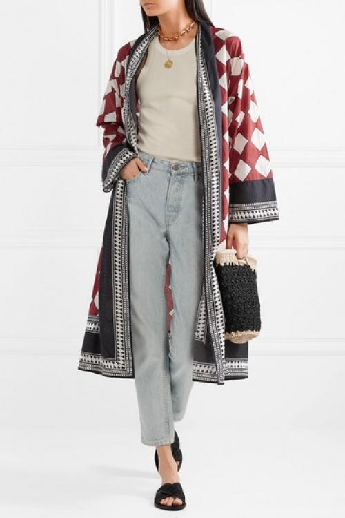 FIGUE - Kimono imprimé