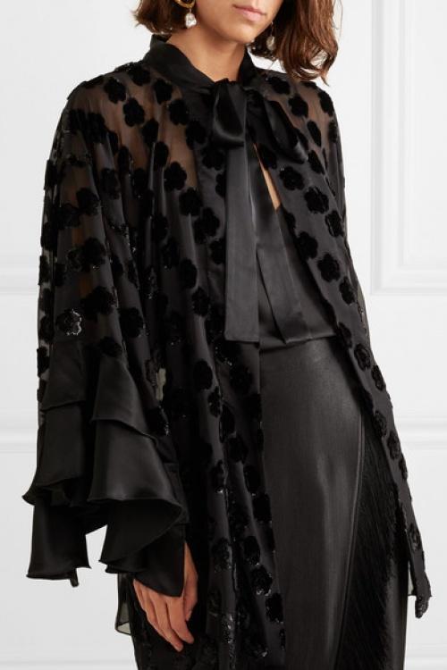 ANNA SUI - Kimono en mousseline
