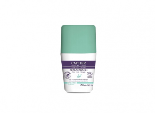 Cattier – Déodorant Roll-on 24h