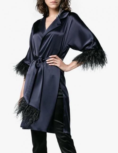 OSMAN - Kimono bleu nuit