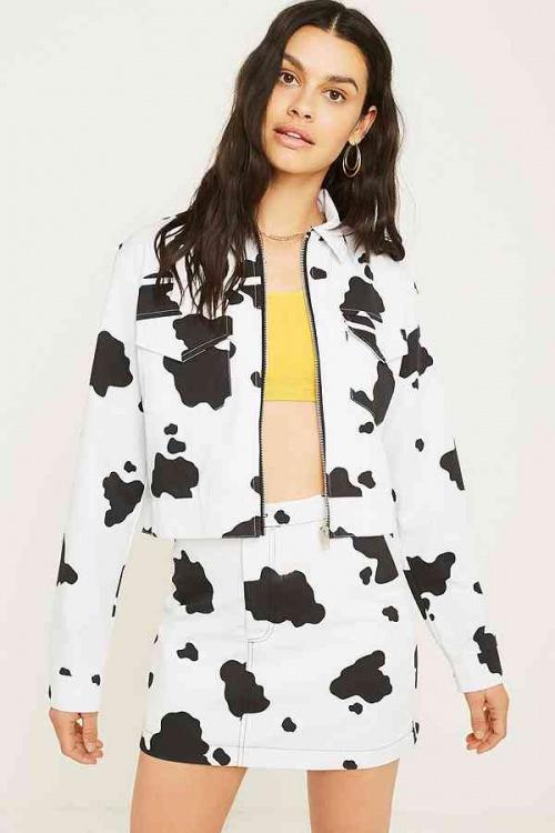 Urban Renewal - Veste motif vache