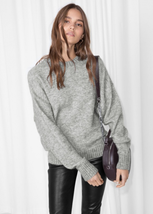 & Other Stories - Pull gris
