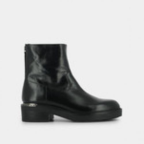 Jonak - Boots plates en cuir