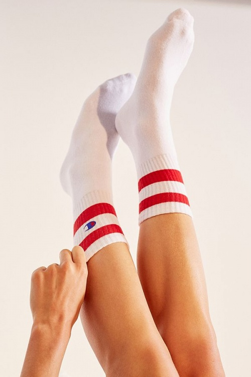 Champion - Chaussettes sport Reverse Weave blanches