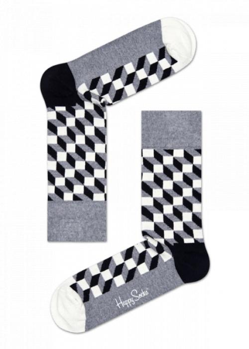 Happy Socks - Filled Optic Sock