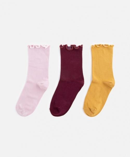 Oysho - 3 paires de chaussettes différentes couleurs
