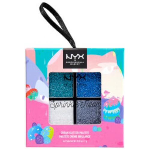 NYX - Sprinkle Town Cream Glitter Palette