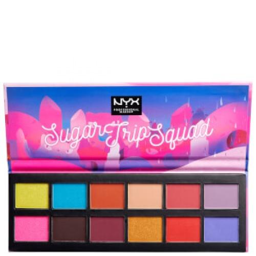 NYX - Sugar Trip Squad Eyeshadow Palette