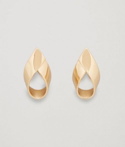 COS - Boucles d'oreilles dorées