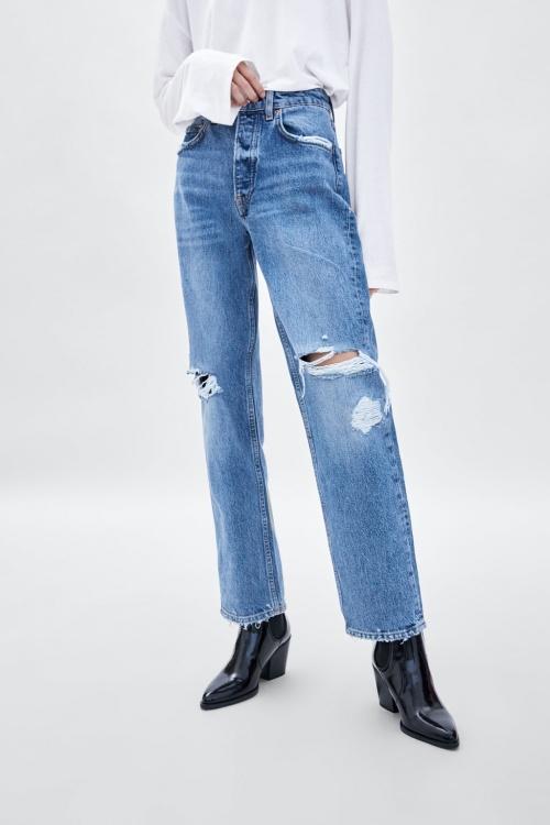 Zara - Jean taille mi-haute