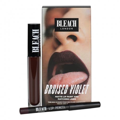 Bleach London - Lip Kit Bruised Violet