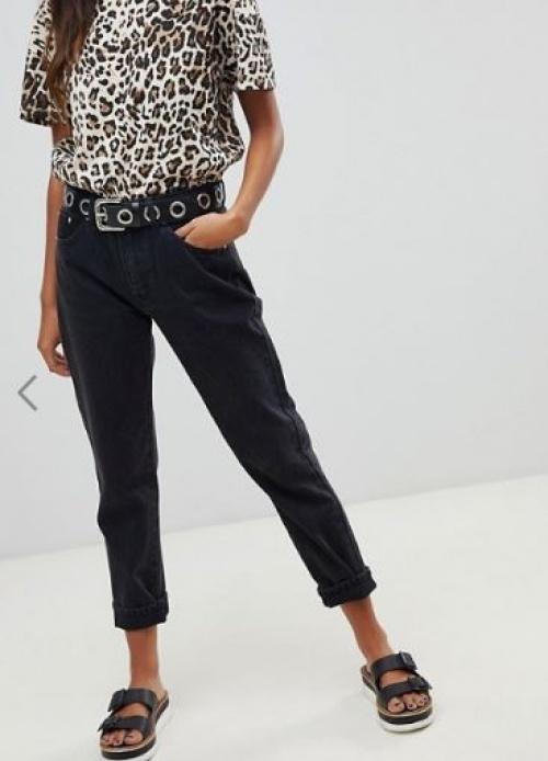 Pull & Bear - Jean droit classique noir