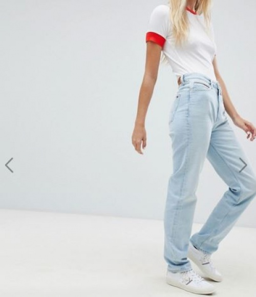 Tommy Jeans - Classics - Jean Mom à taille haute
