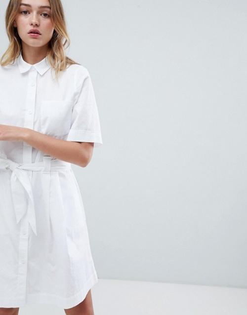 Monki - Robe chemise