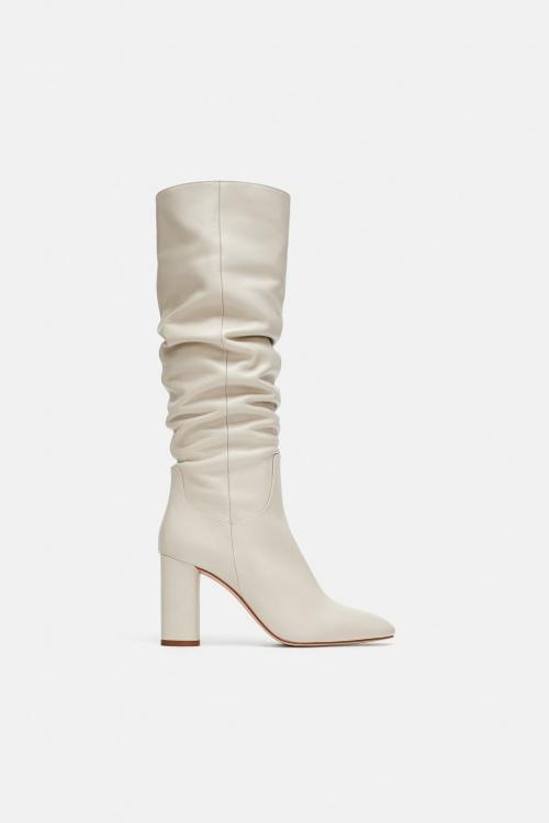 Zara - Bottes en cuir