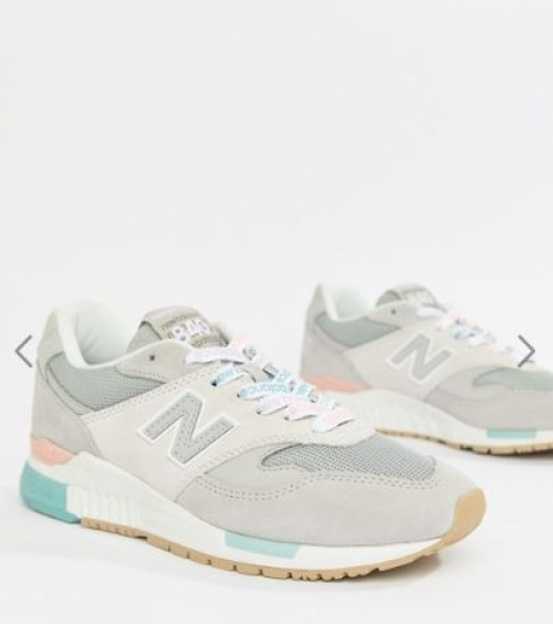 New Balance - 840 - Baskets à lacets avec logo