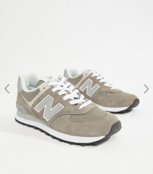 New-Balance - 574 - Baskets en daim