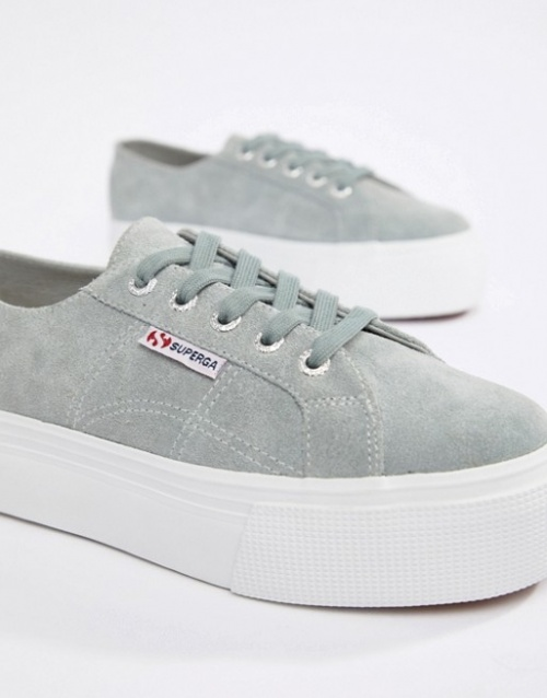 Superga - Baskets grises