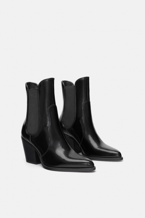 Zara - Bottines de Cow-Boy