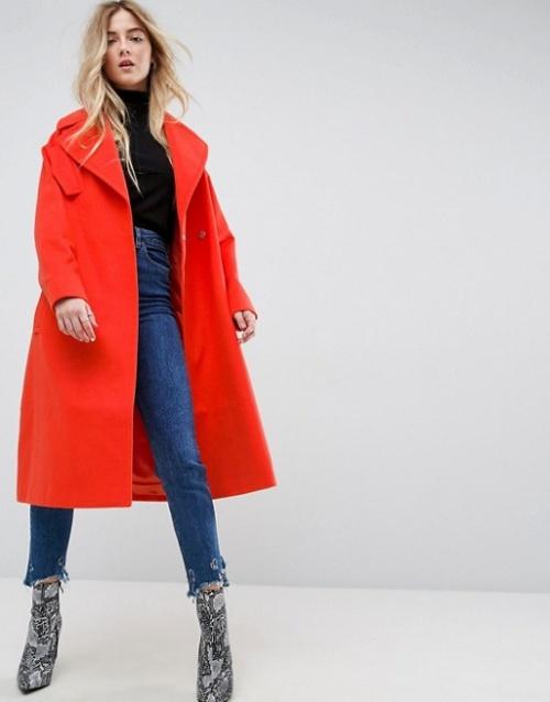 ASOS - Manteau oversize à poches