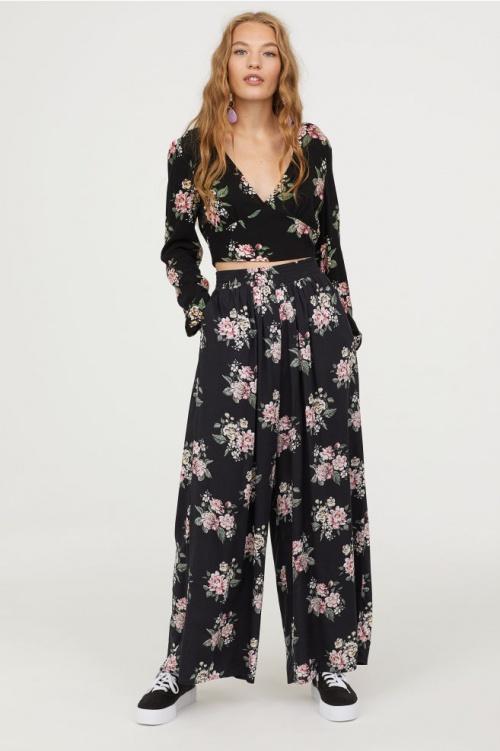 H&M - Pantalon ample noir